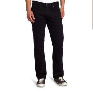 Levi's Men's 514 Straight fit Stretch Jean, Black
